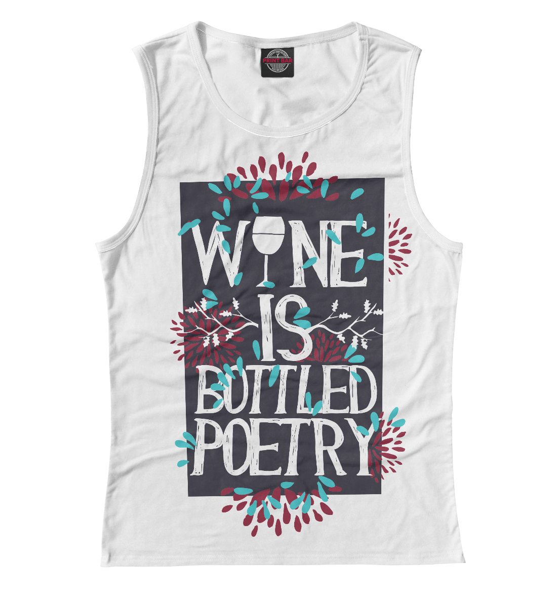 Wine is a bottled poetry