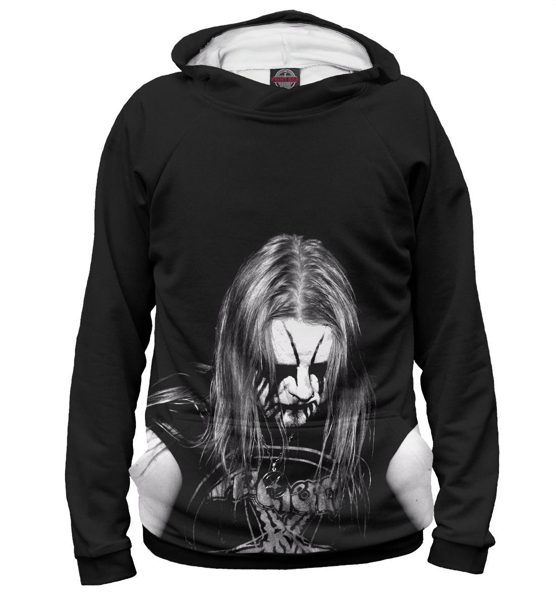Купить Black Metal Ist Krieg, Printbar, Худи, MZK-322984-hud-1