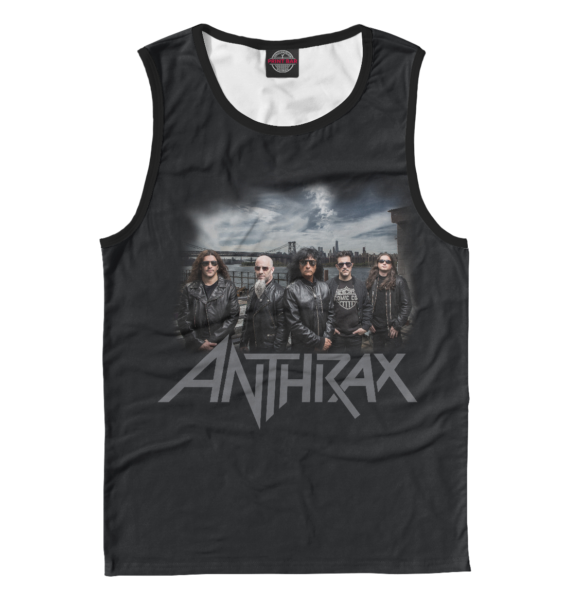 Anthrax anthrax anthrax attack of the killer b s