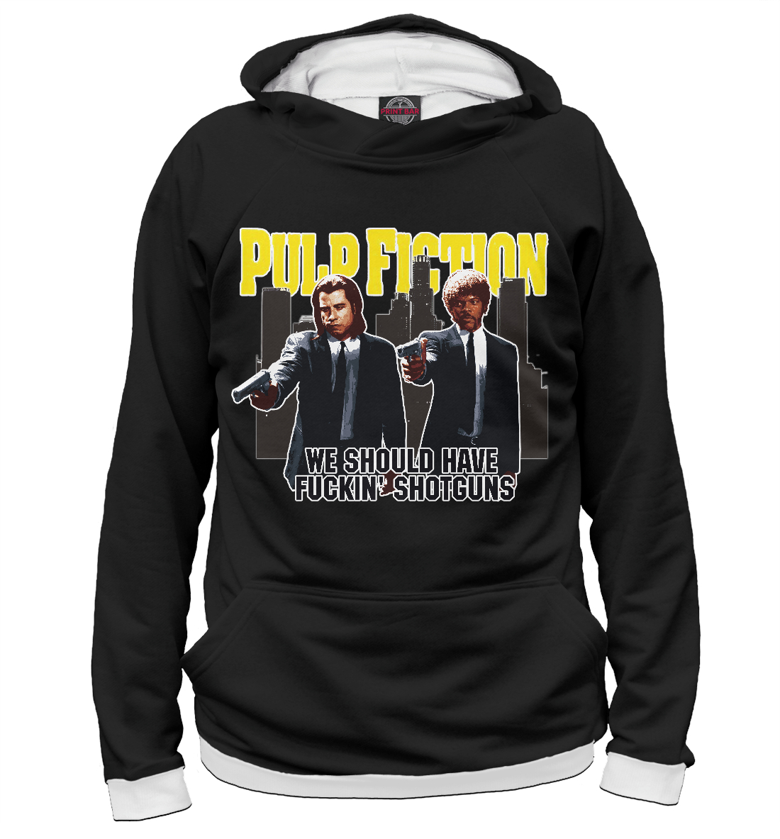 Купить Pulp Fiction (криминально чтиво), Printbar, Худи, KML-132535-hud-1
