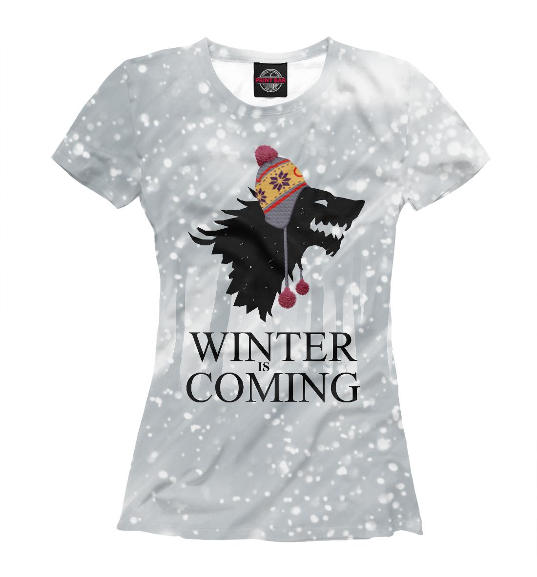Купить Зима близко, Printbar, Футболки, IGR-323519-fut-1