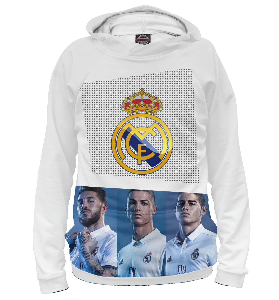 Купить Real Madrid Collection, Printbar, Худи, REA-908933-hud-2