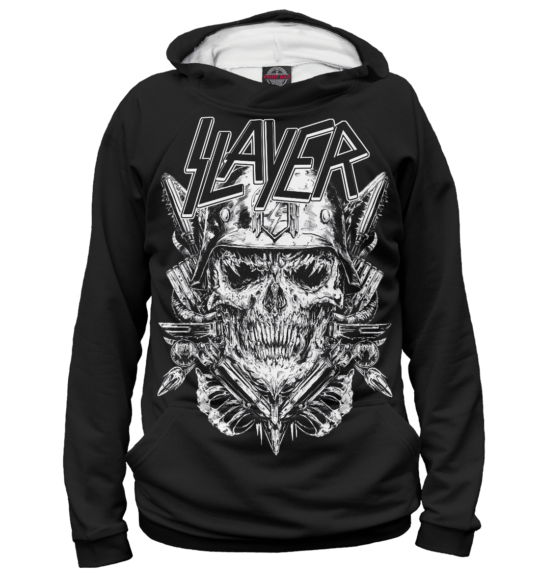 Купить Slayer, Printbar, Худи, MZK-545273-hud-1