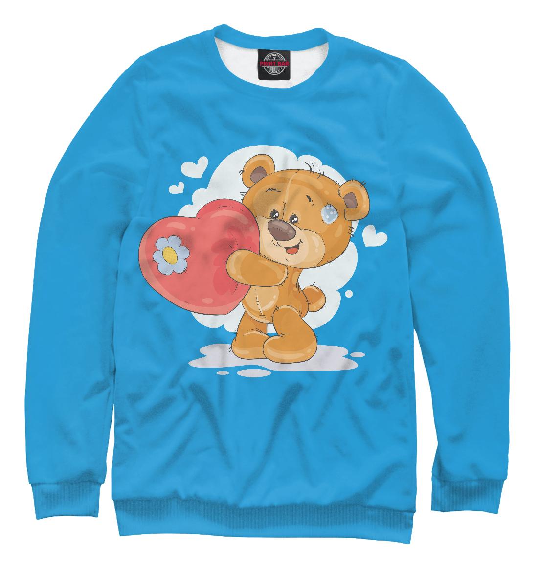 Медвежонок с сердцем, Printbar, Свитшоты, SRD-776863-swi-1  - купить со скидкой