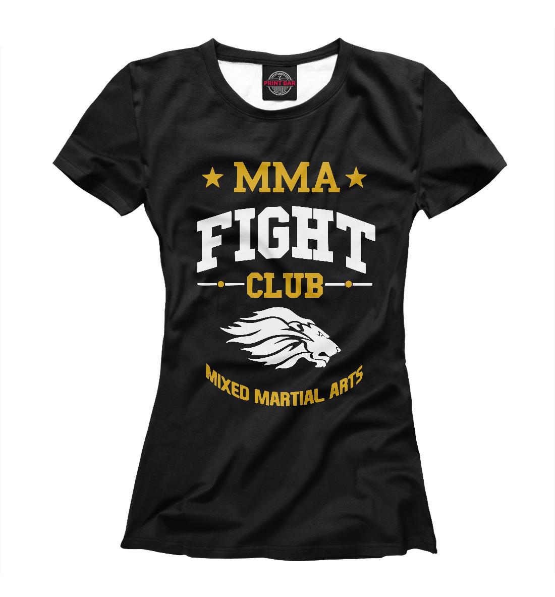 Купить MMA Fight Club, Printbar, Футболки, MNU-718522-fut-1