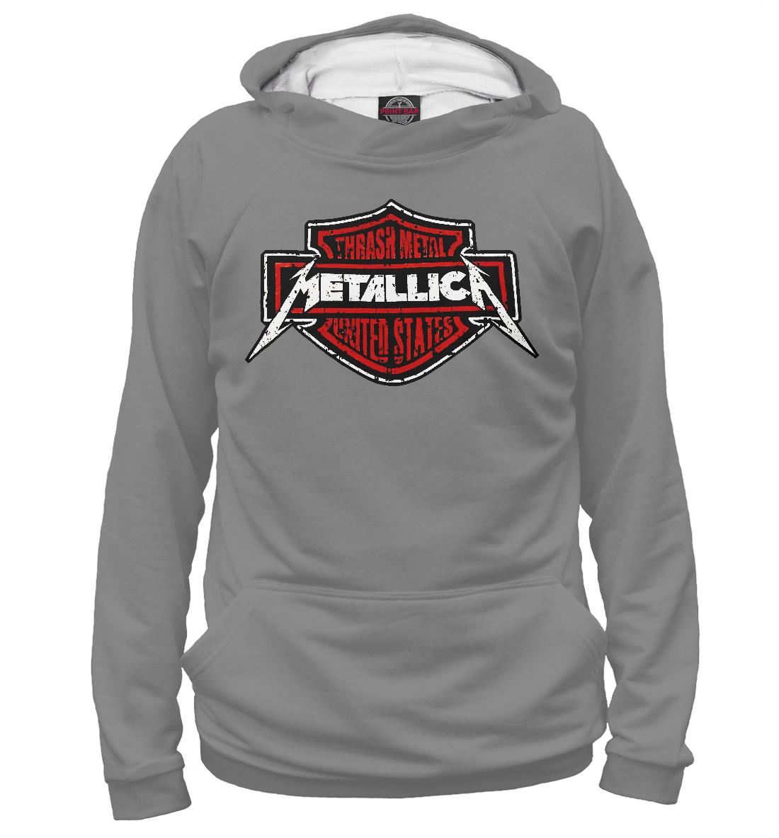 Купить Metallica thrash metal band, Printbar, Худи, MET-357884-hud-2