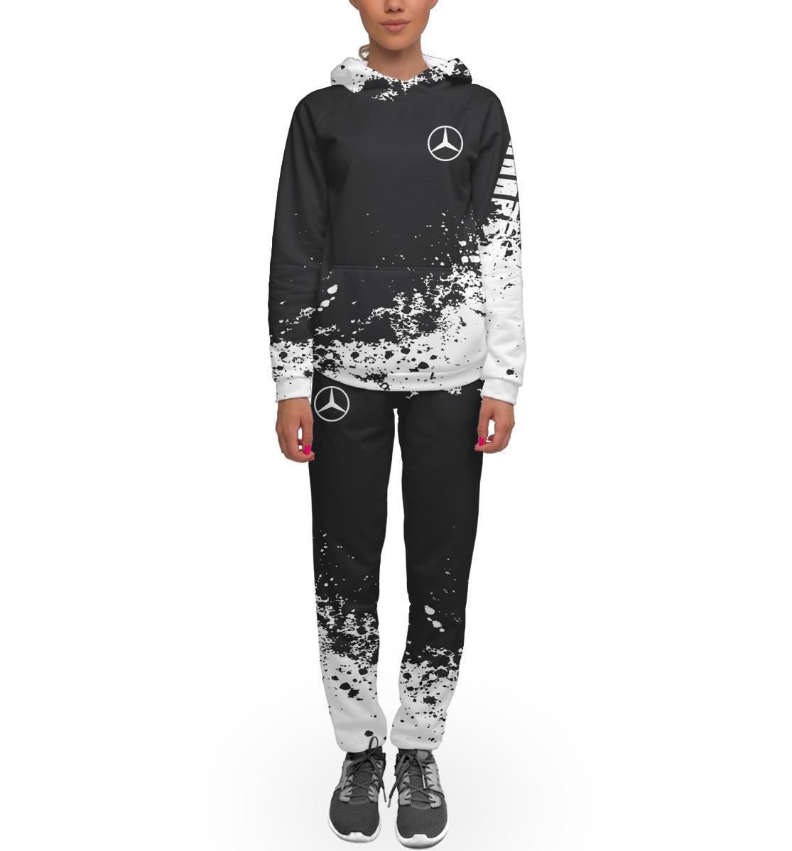 Купить Mercedes-Benz abstract sport uniform, Printbar, Спортивные костюмы, MER-443856-kmp-1