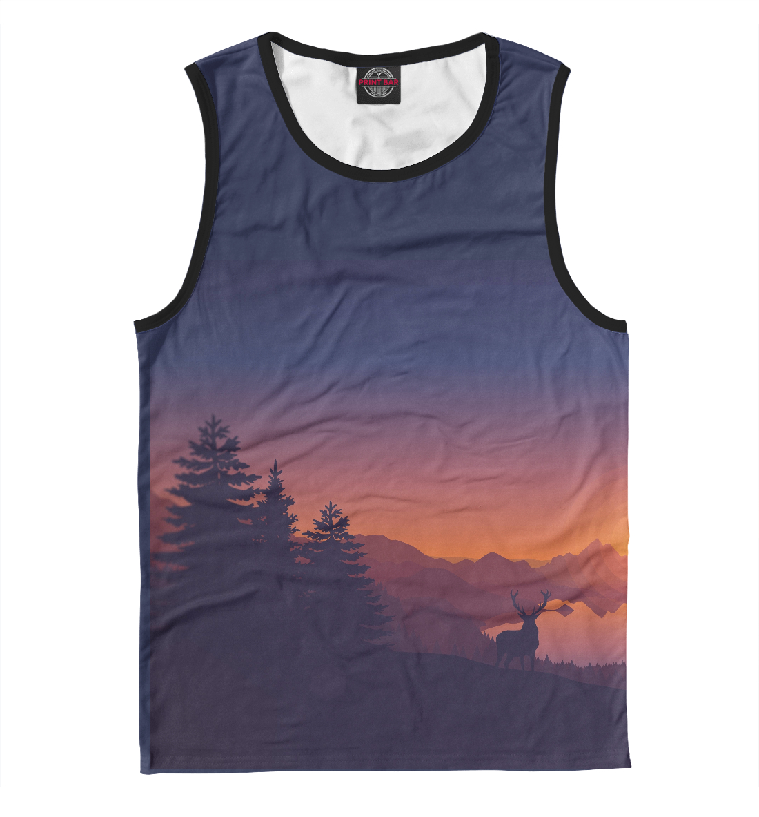 Купить Sunset, Printbar, Майки, ZHR-722062-may-2