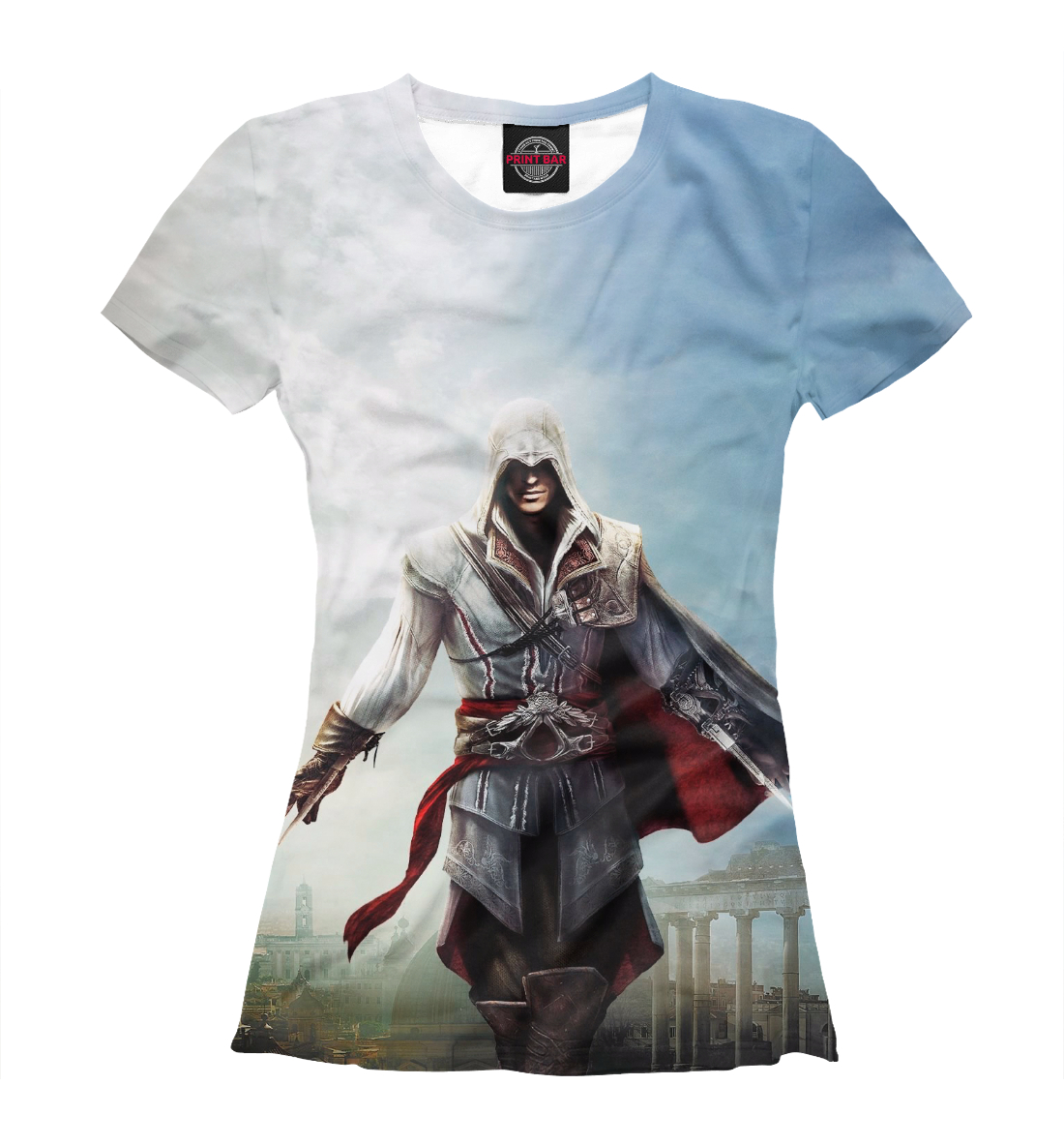 Купить Assassin's Creed Ezio Collection, Printbar, Футболки, RPG-324153-fut-1