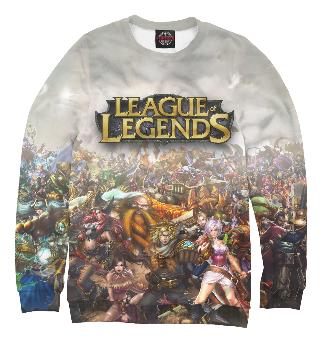 Купить League of Legends, Printbar, Свитшоты, LOL-801016-swi-1