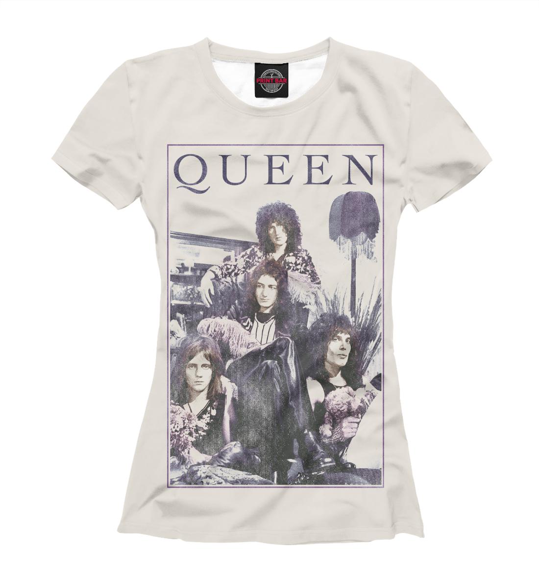 Купить Queen, Printbar, Футболки, QUE-777833-fut-1