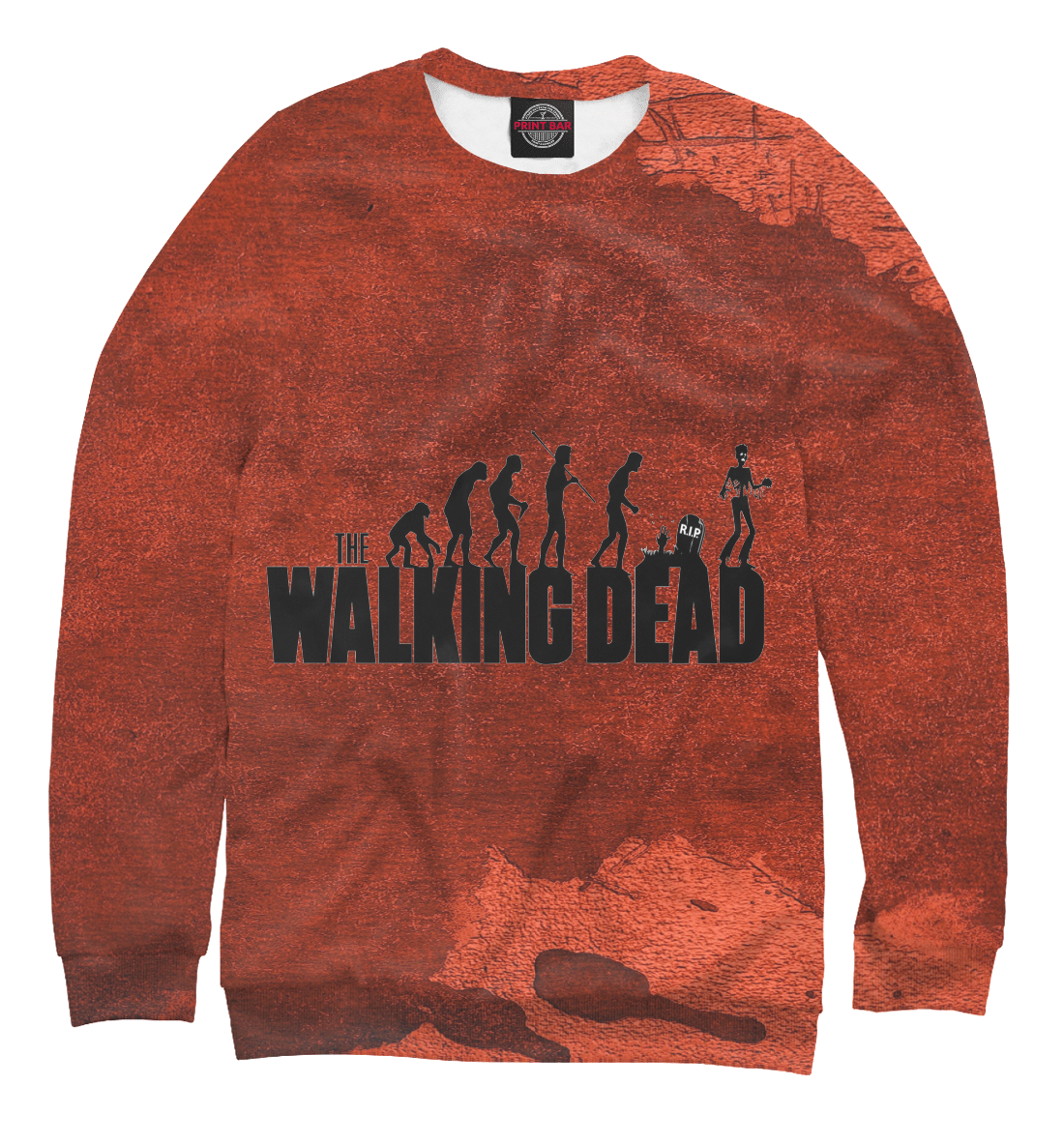 Купить The Walking Dead, Printbar, Свитшоты, HOD-622366-swi-1