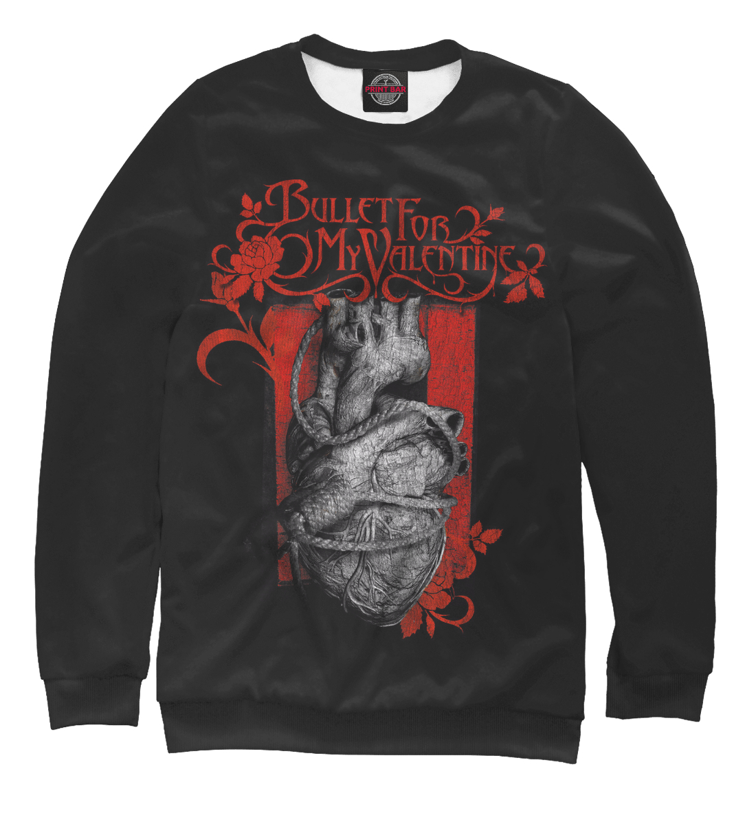 Купить Bullet For My Valentine, Printbar, Свитшоты, MZK-922147-swi-2