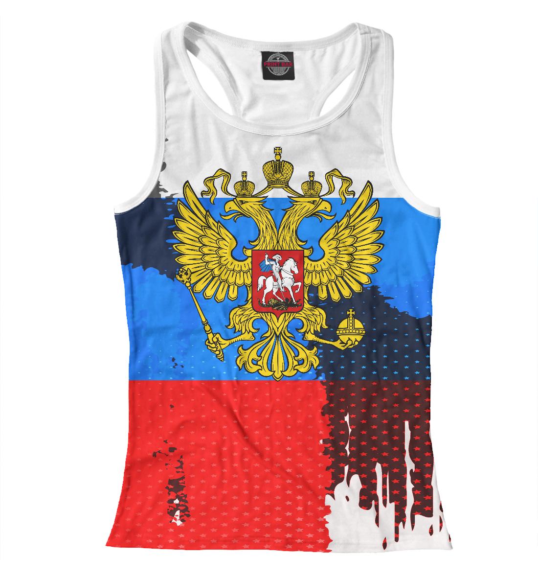 Купить Россия триколор, Printbar, Майки борцовки, SRF-926777-mayb-1
