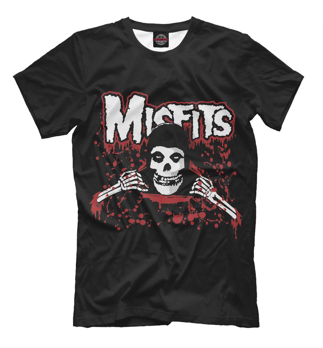 Купить The Misfits, Printbar, Футболки, MZK-239230-fut-2