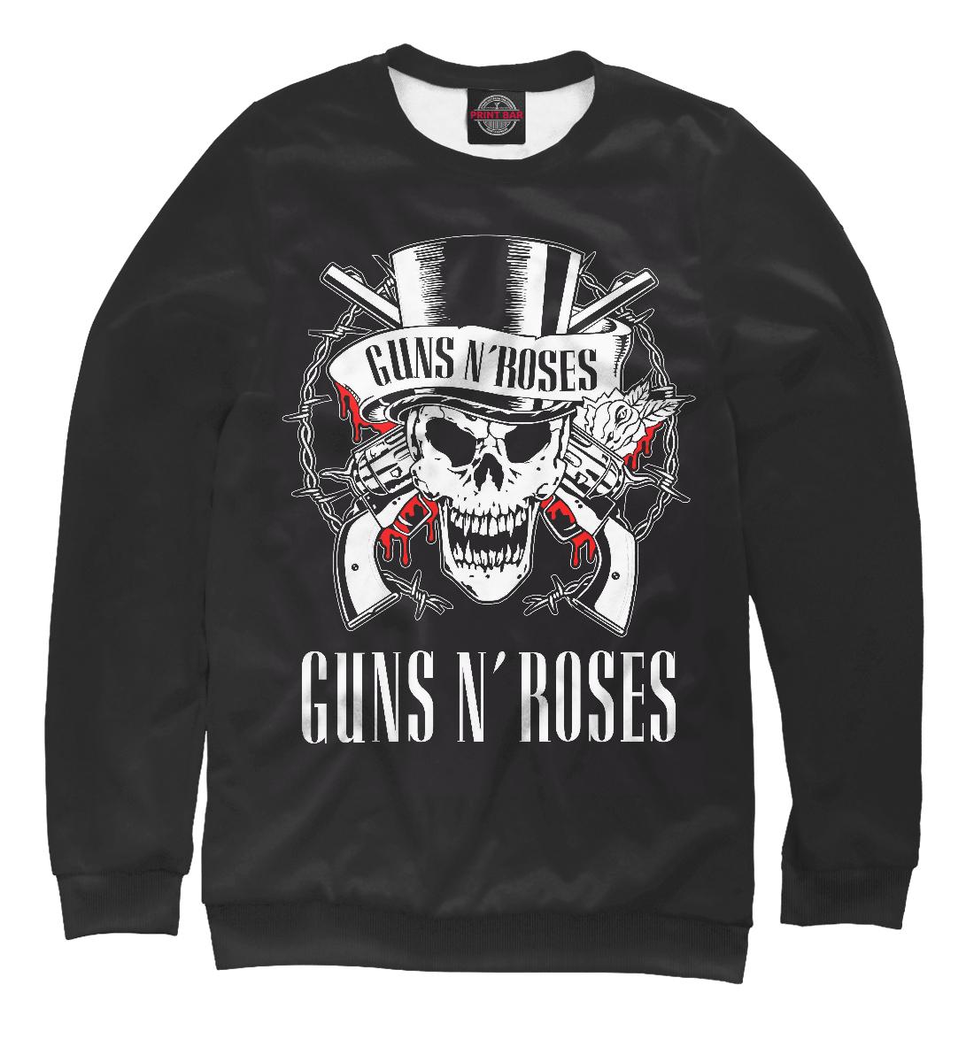 Купить Guns N'Roses, Printbar, Свитшоты, GNR-629158-swi-1