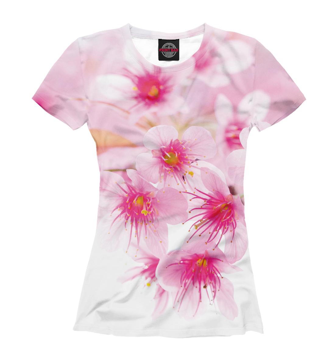 Купить Вишнёвый цвет, Printbar, Футболки, CVE-219744-fut-1