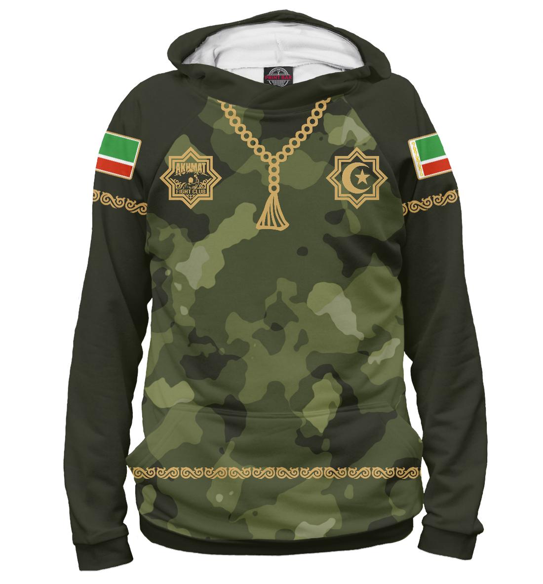 Купить Чечня Ахмат Камуфляж, Printbar, Худи, AFC-271730-hud-1