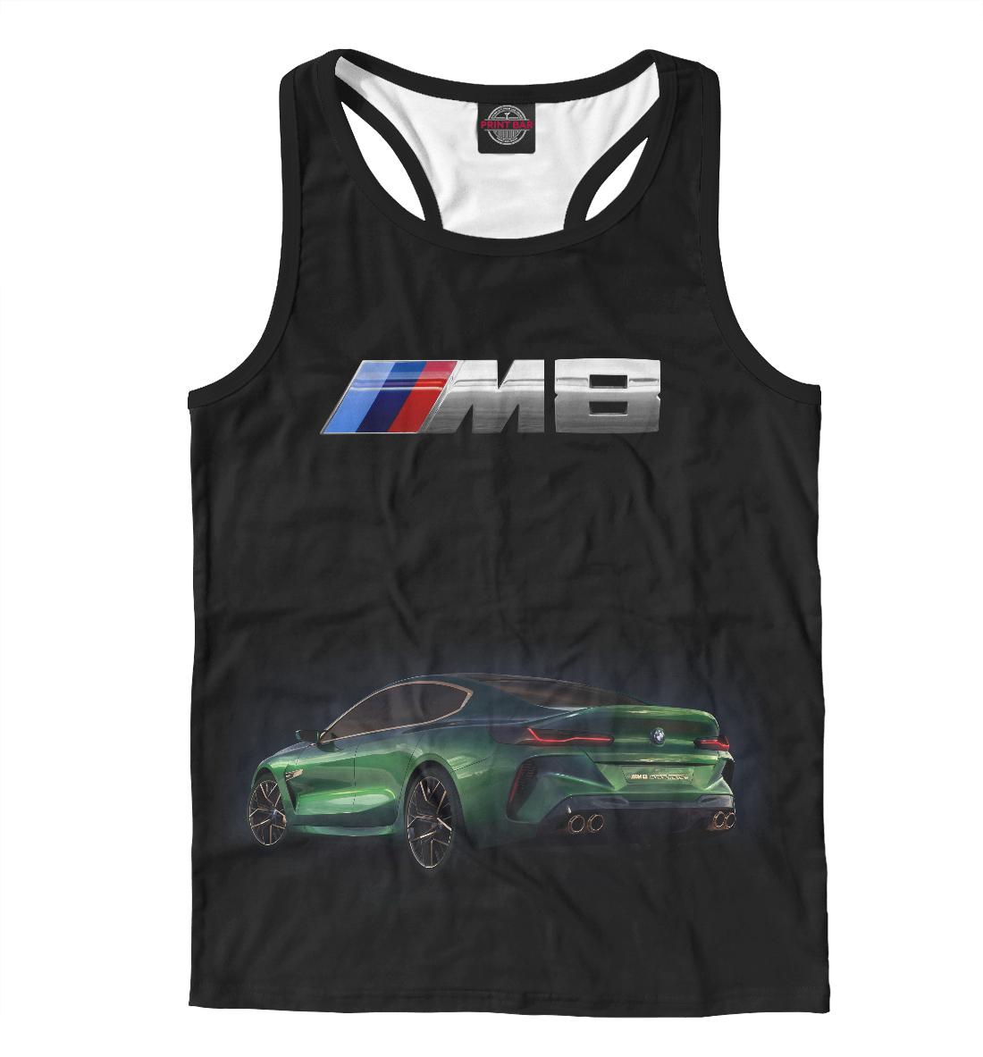 Купить M8 Gran Coupe, Printbar, Майки борцовки, BMW-277413-mayb-2