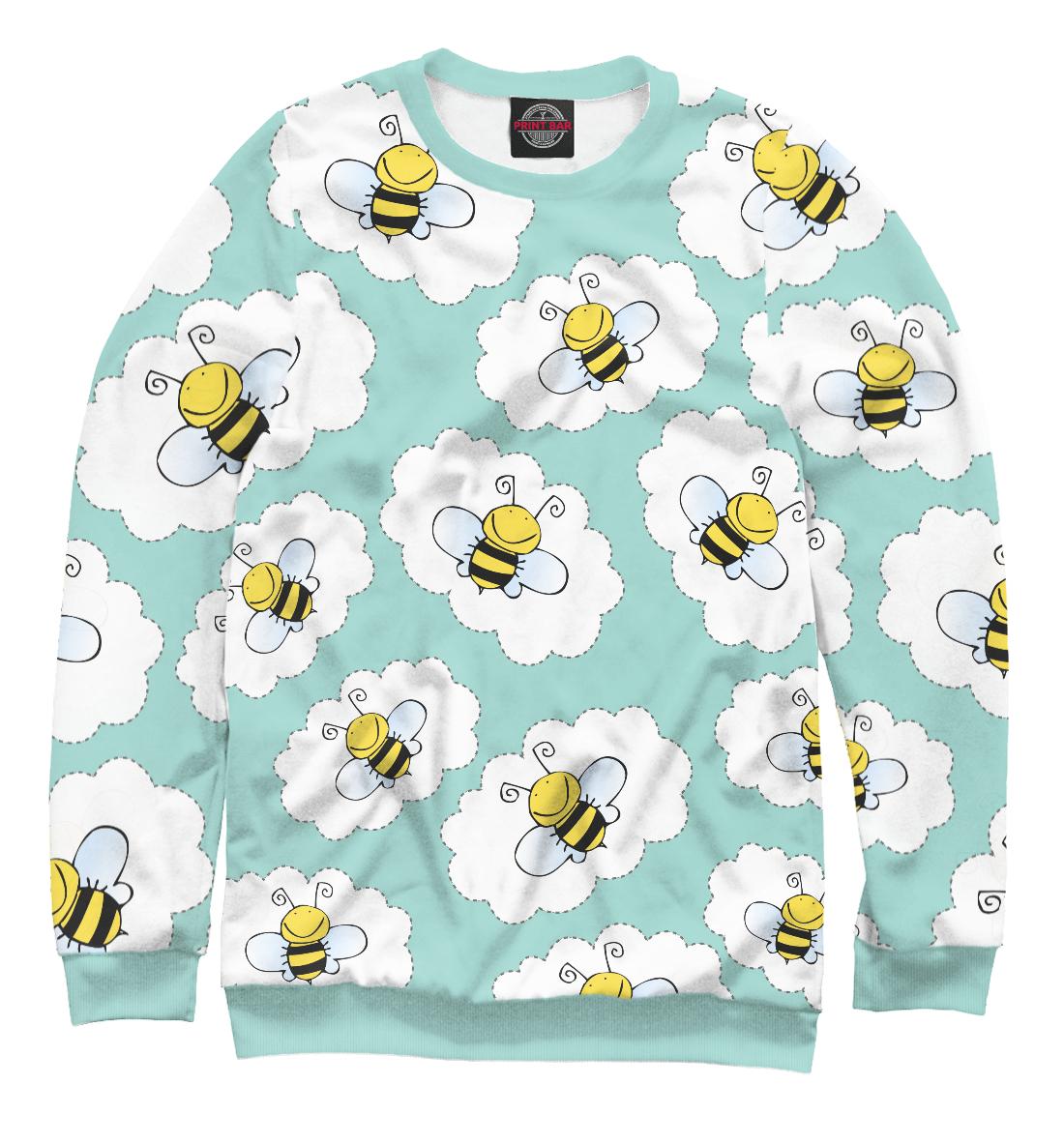 Милые пчелы, Printbar, Свитшоты, NAS-495821-swi-1  - купить со скидкой