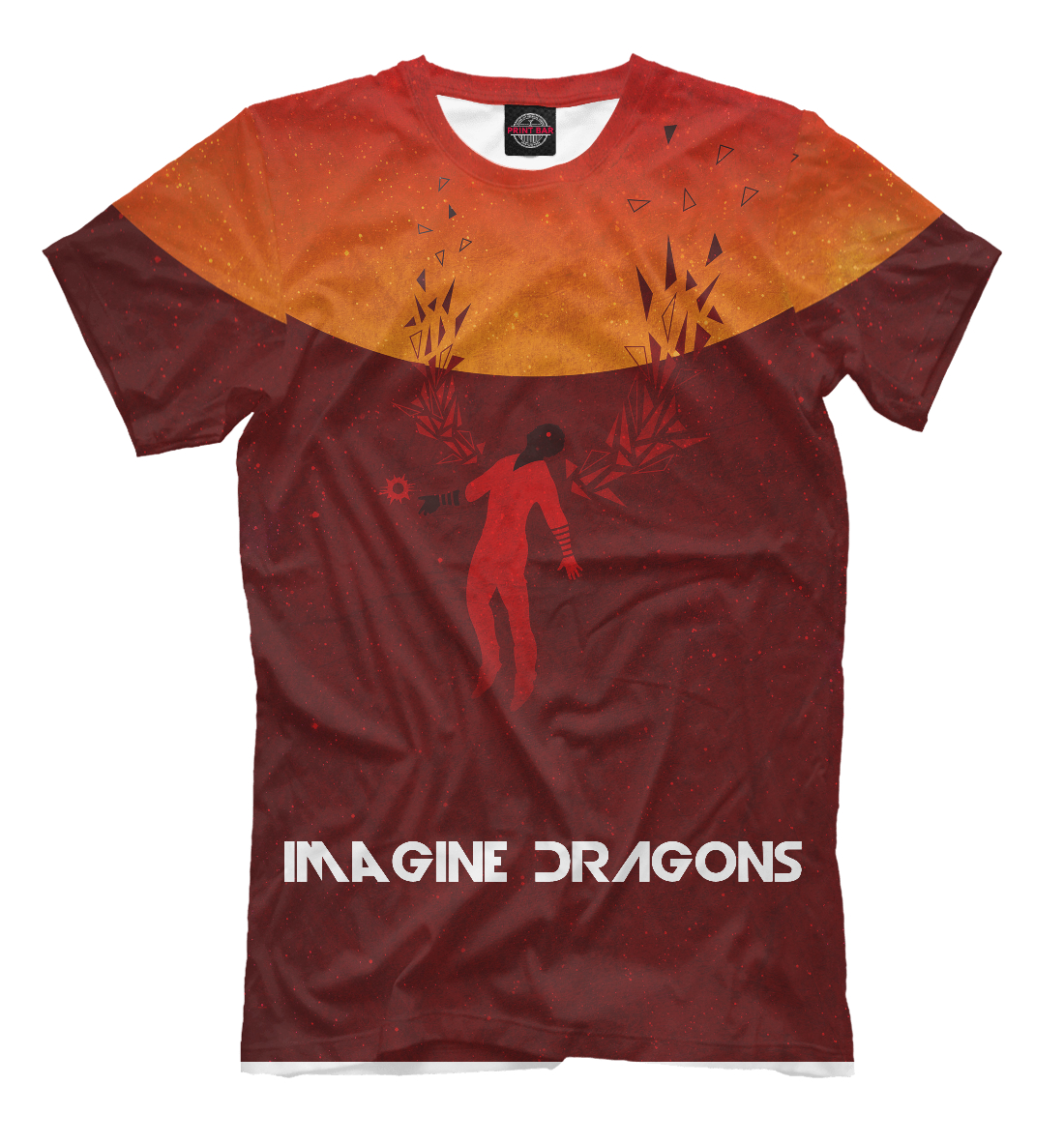 Купить Imagine Dragons, Printbar, Футболки, IMA-244101-fut-2