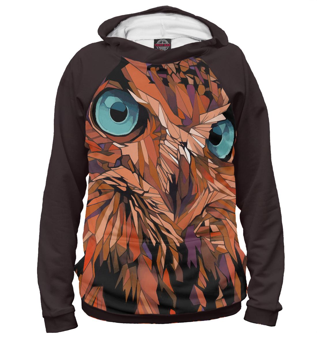 Купить Сова, Printbar, Худи, OWL-422941-hud-1