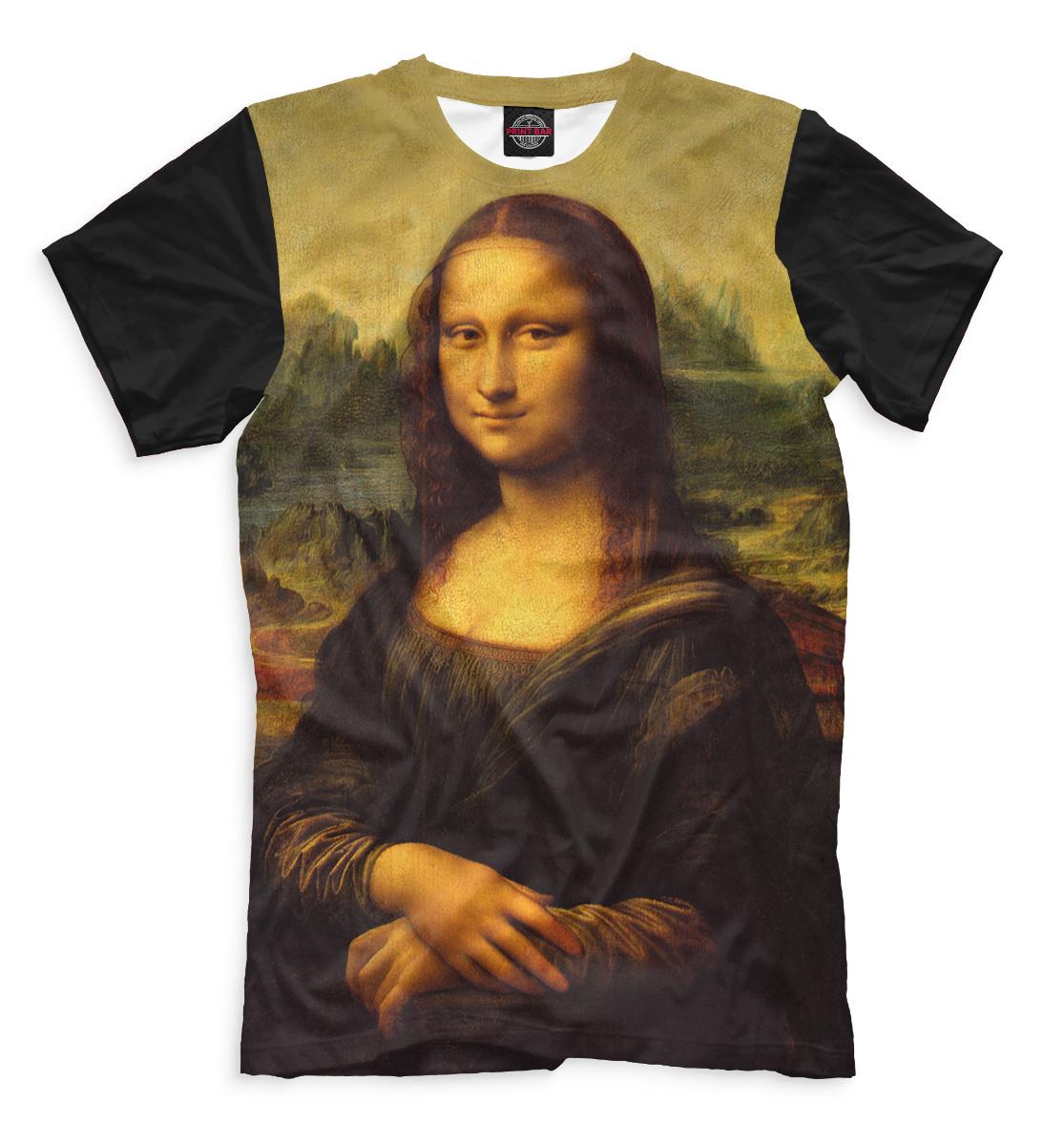 Купить Мона Лиза Джоконда, Printbar, Футболки, GHI-465789-fut-2
