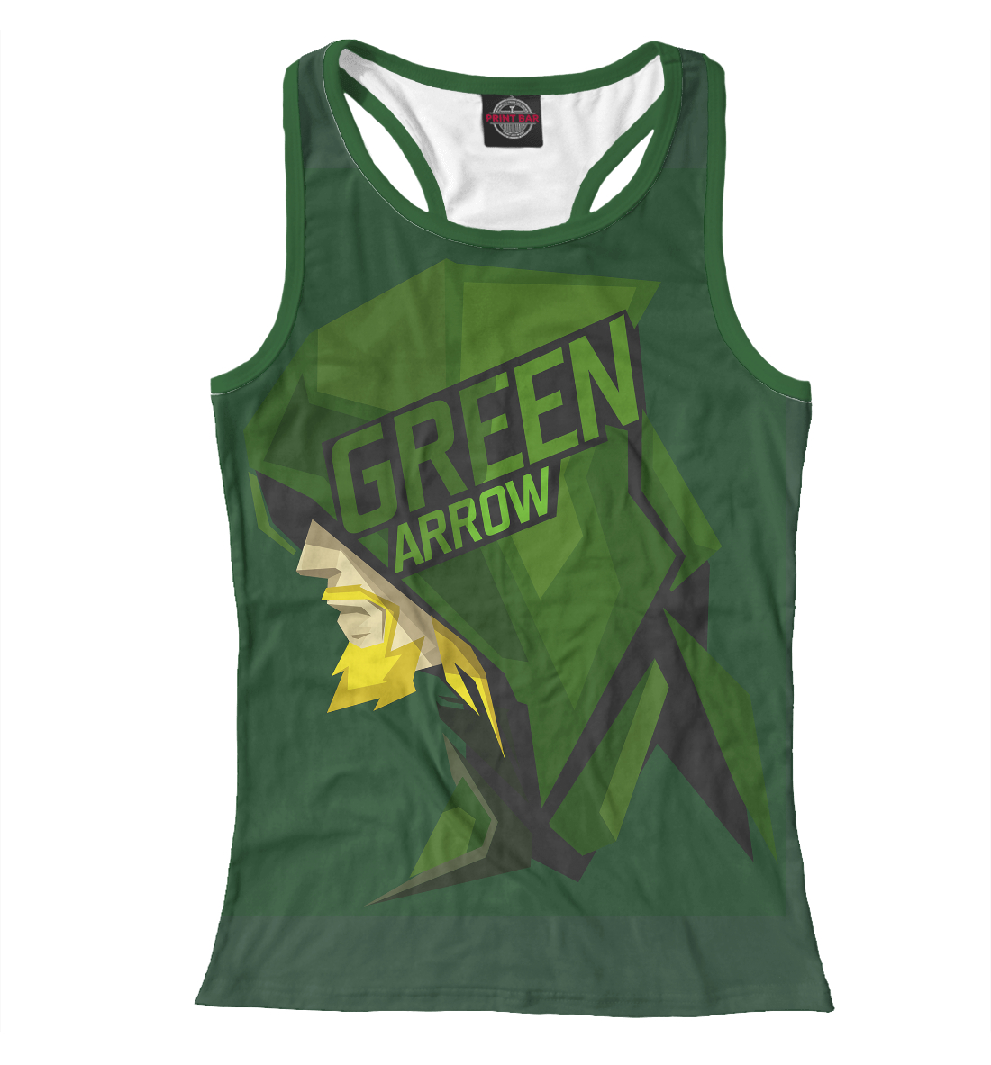 Green Arrow, Printbar, Майки борцовки, STR-984290-mayb-1  - купить со скидкой