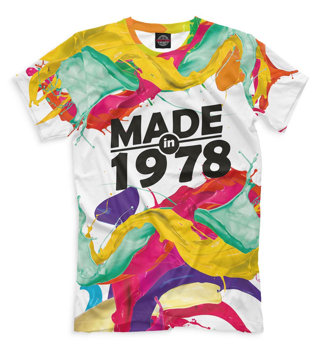 Купить Made in 1978, Printbar, Футболки, DSV-654909-fut-2