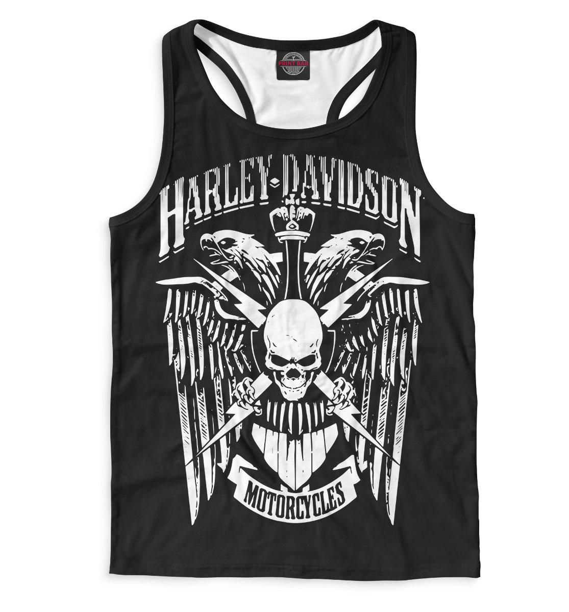 Купить Harley Davidson Motorcycles, Printbar, Майки борцовки, MTR-575884-mayb-2