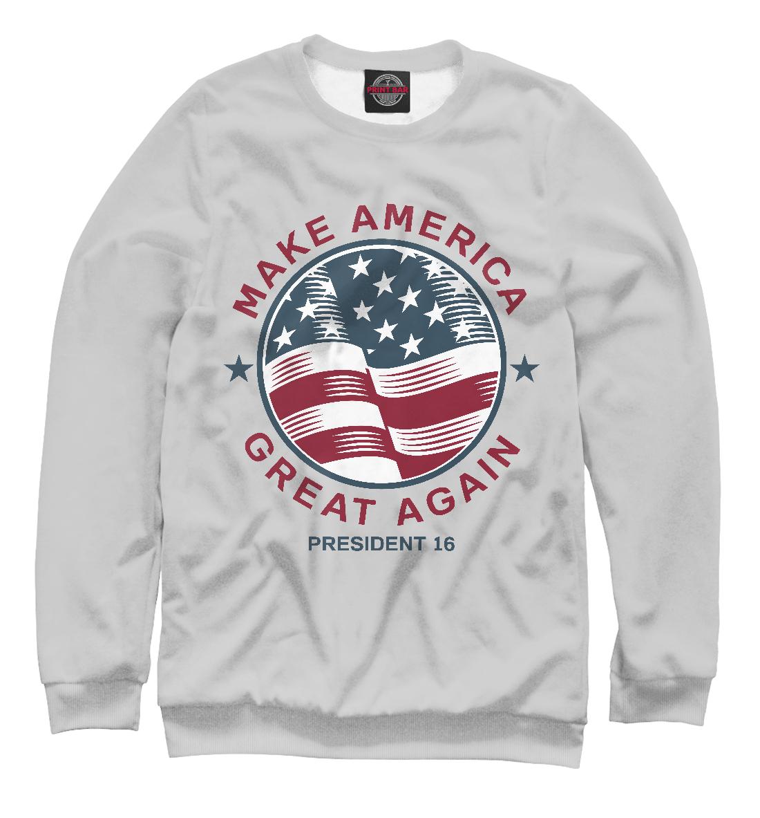 Купить Make America Great Again, Printbar, Свитшоты, CTS-164412-swi-1