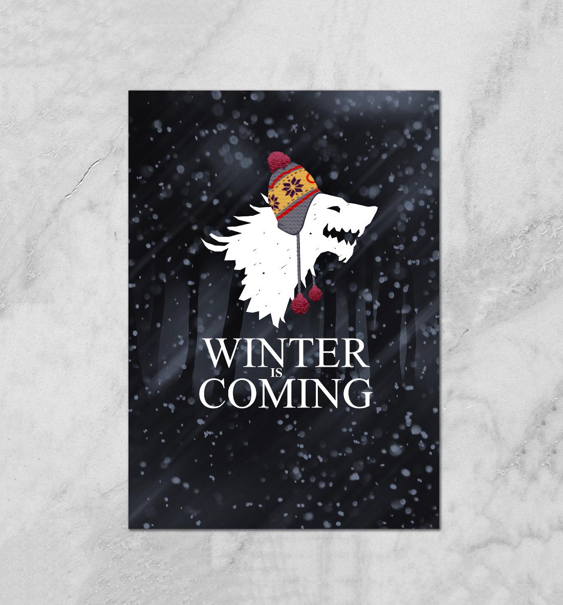 Купить Зима близко, Printbar, Плакаты, IGR-496837-plk