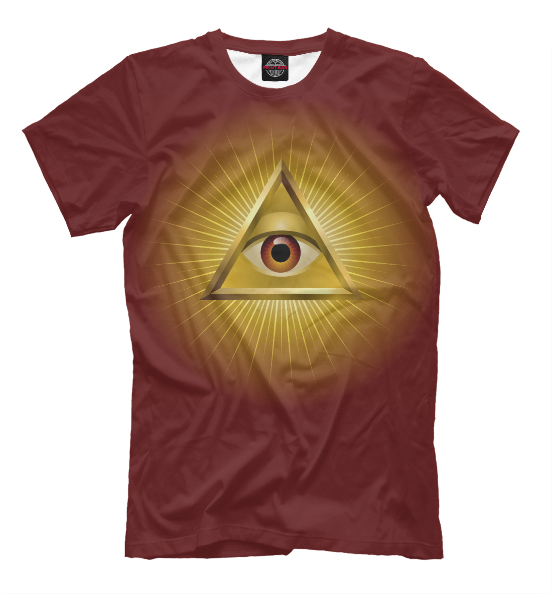 Illuminati, Printbar, Футболки, APD-438186-fut-2  - купить со скидкой