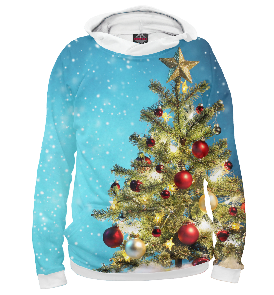 Купить Happy New Year, Printbar, Худи, NOV-375831-hud-2