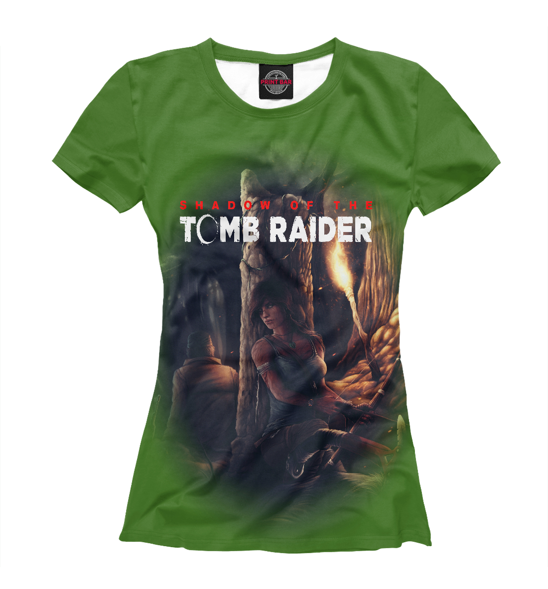 Купить TOMB RAIDER, Printbar, Футболки, TBR-135723-fut-1