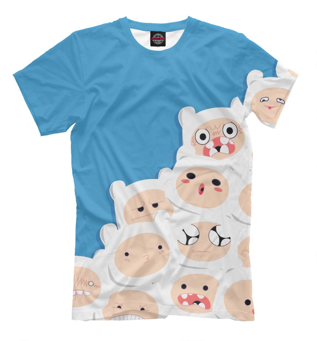 Купить Adventure Time Finn, Printbar, Футболки, ADV-125246-fut-2