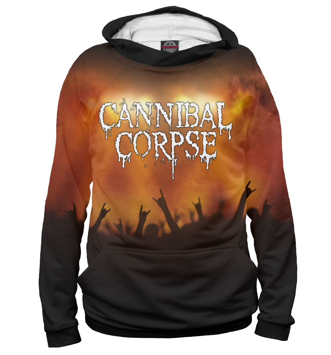 Купить Cannibal Corpse, Printbar, Худи, CCR-643788-hud-2