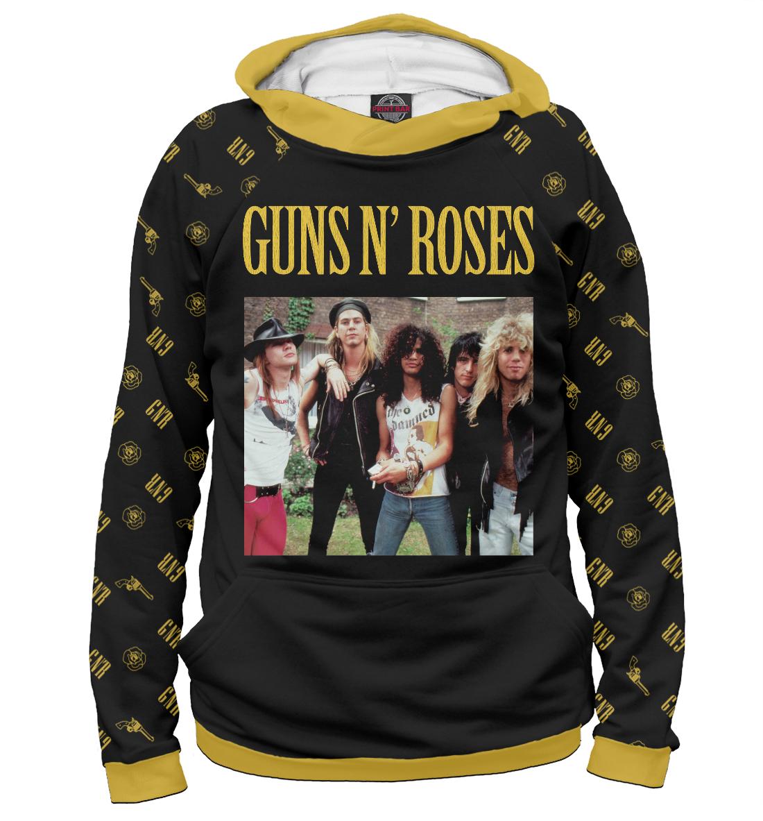 Купить Guns N'Roses, Printbar, Худи, GNR-863975-hud-2