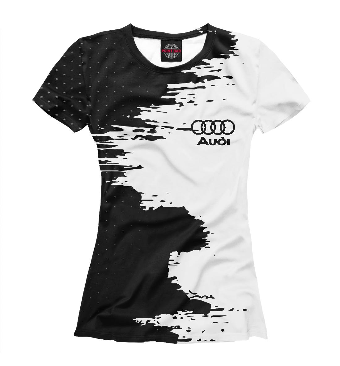 Купить AUDI sport, Printbar, Футболки, AUD-901224-fut-1