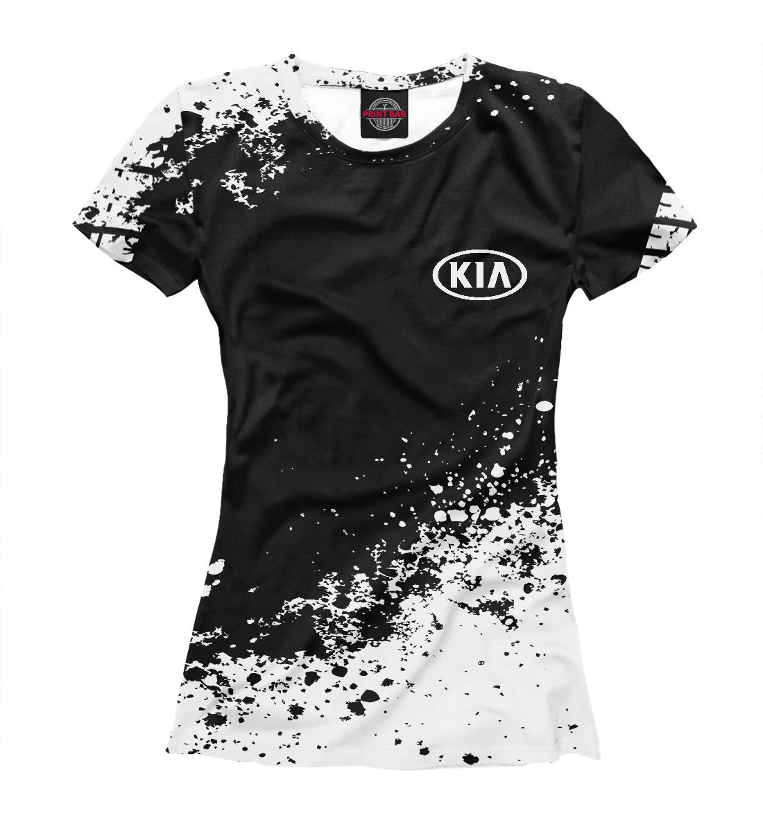 Купить Kia abstract sport uniform, Printbar, Футболки, AMP-137239-fut-1