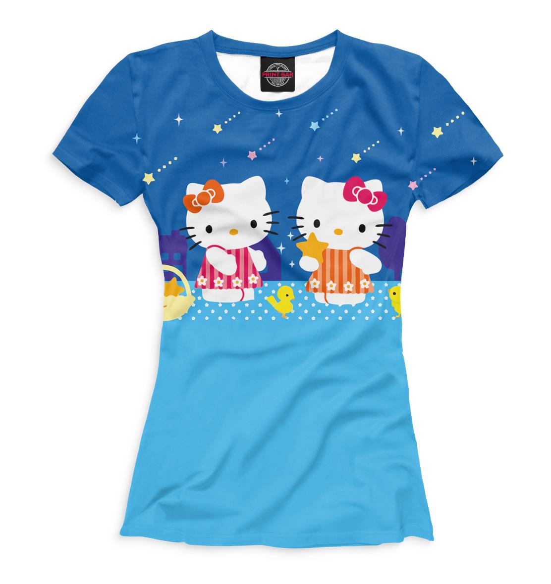 Купить Hello Kitty, Printbar, Футболки, HLK-407951-fut-1