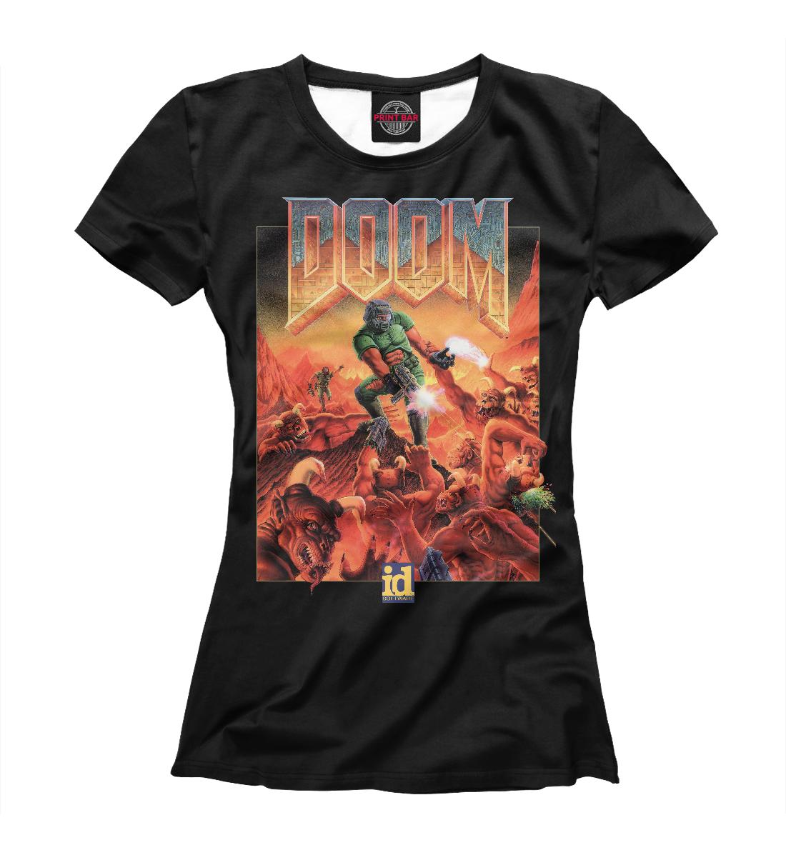 Купить DOOM poster, Printbar, Футболки, RPG-356153-fut-1