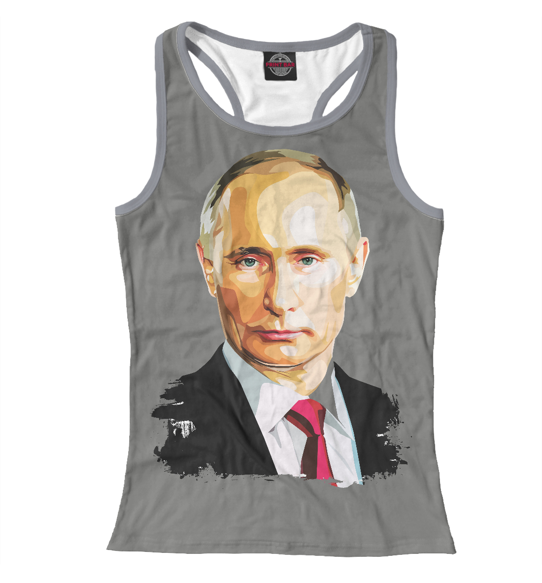 Купить Путин В.В., Printbar, Майки борцовки, PUT-905313-mayb-1