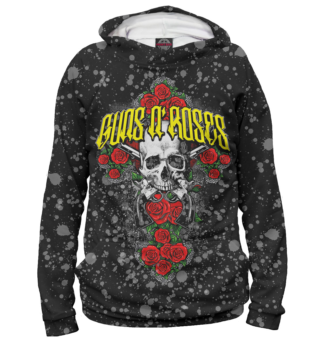 Купить Guns N' Roses, Printbar, Худи, GNR-983813-hud-2