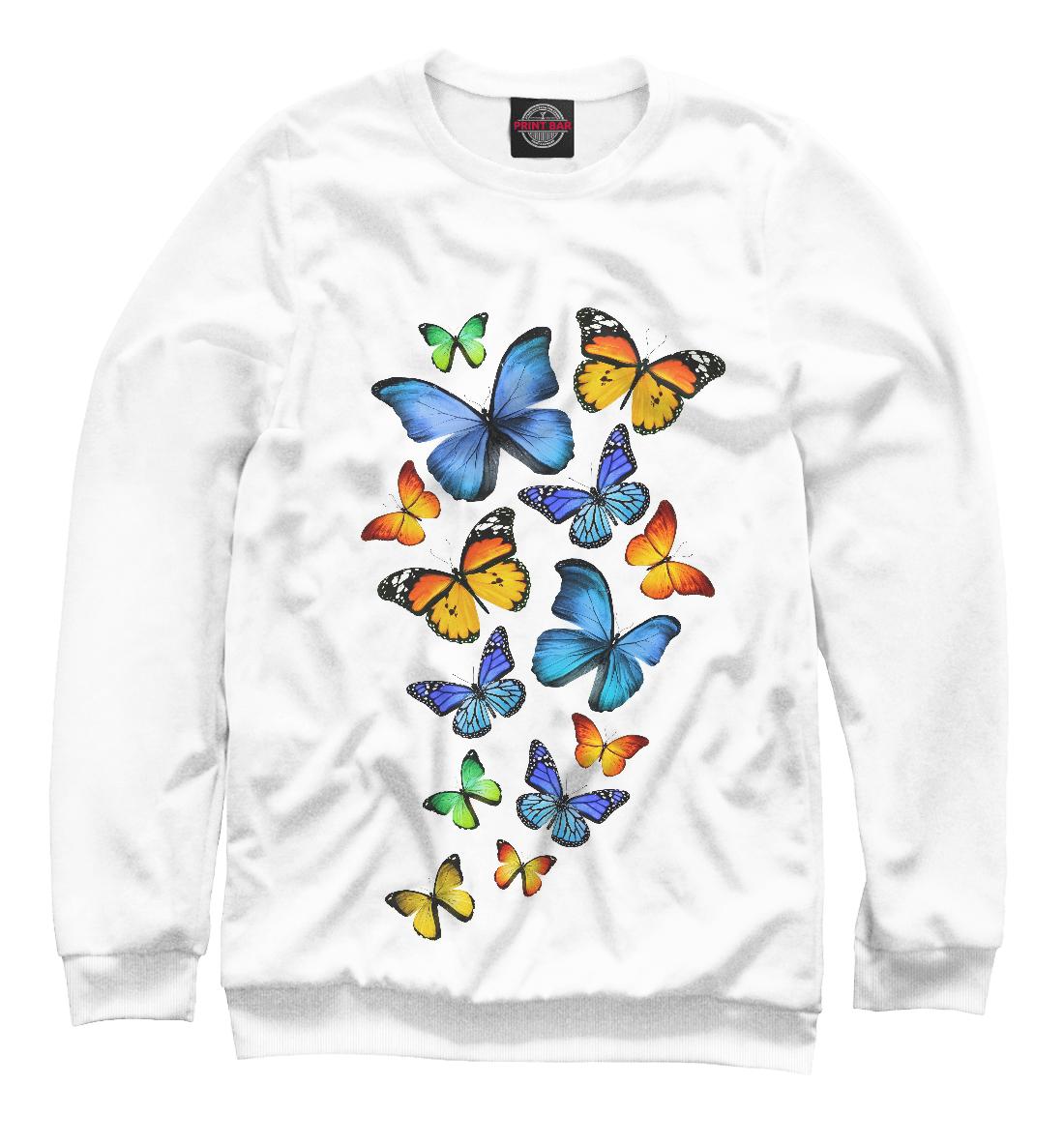 Купить Цветные бабочки, Printbar, Свитшоты, NAS-975057-swi-1