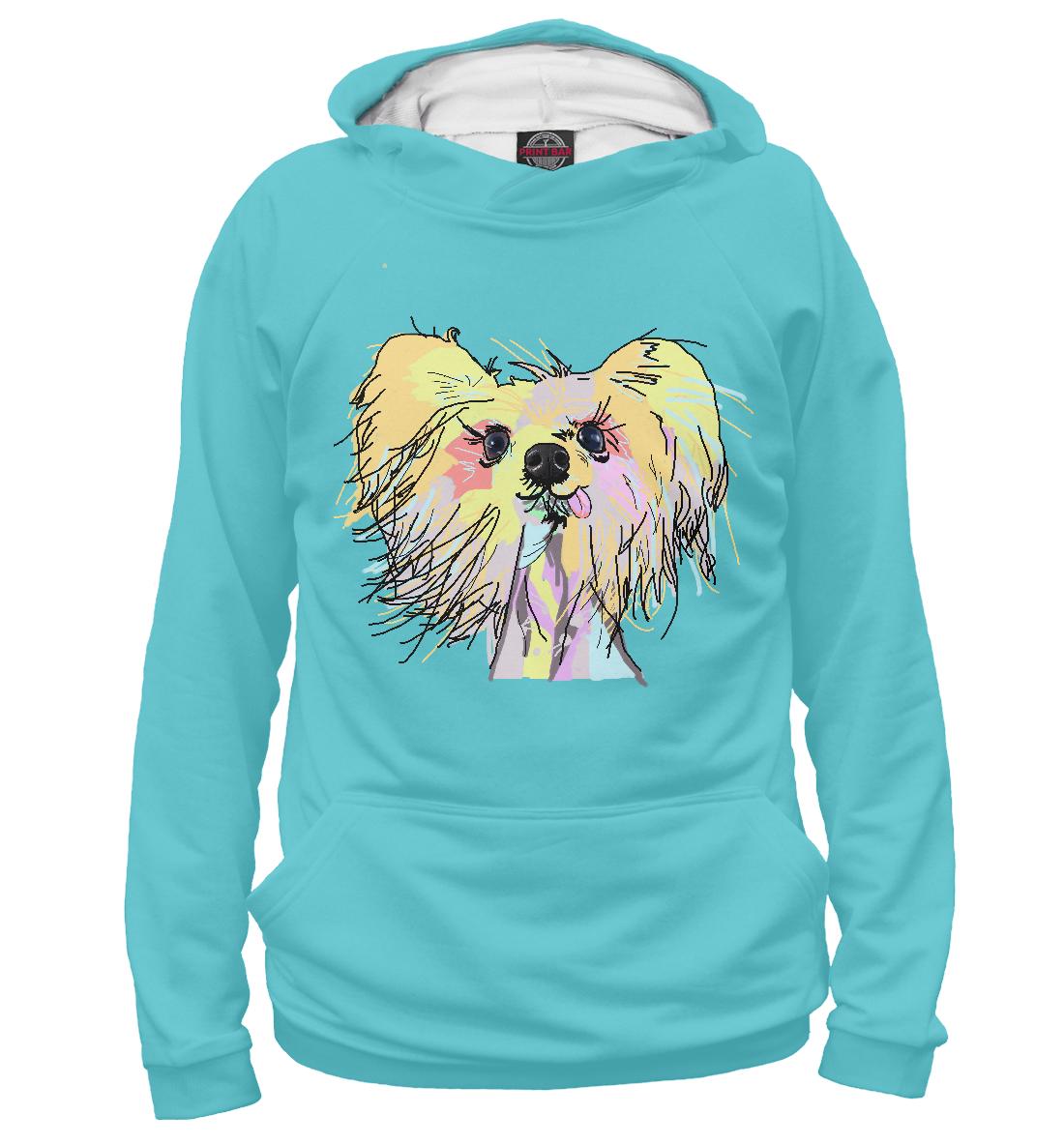 Купить Любишь меня - люби и мою собаку, Printbar, Худи, DOG-814525-hud-2