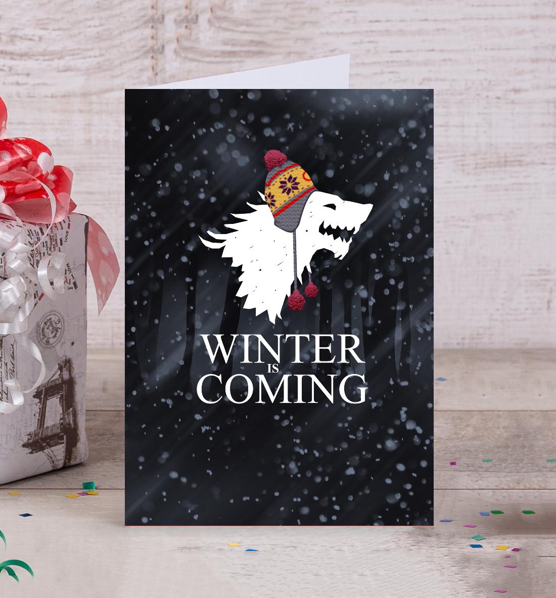 Купить Зима близко, Printbar, Открытки, IGR-496837-otk