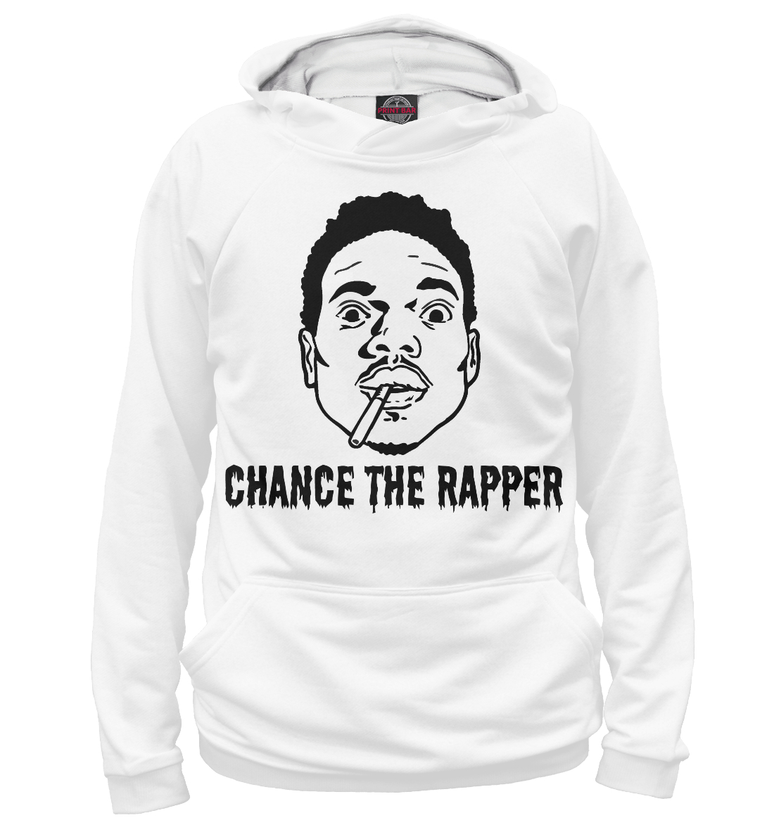 Купить Chance The Rapper, Printbar, Худи, MZK-105548-hud-1