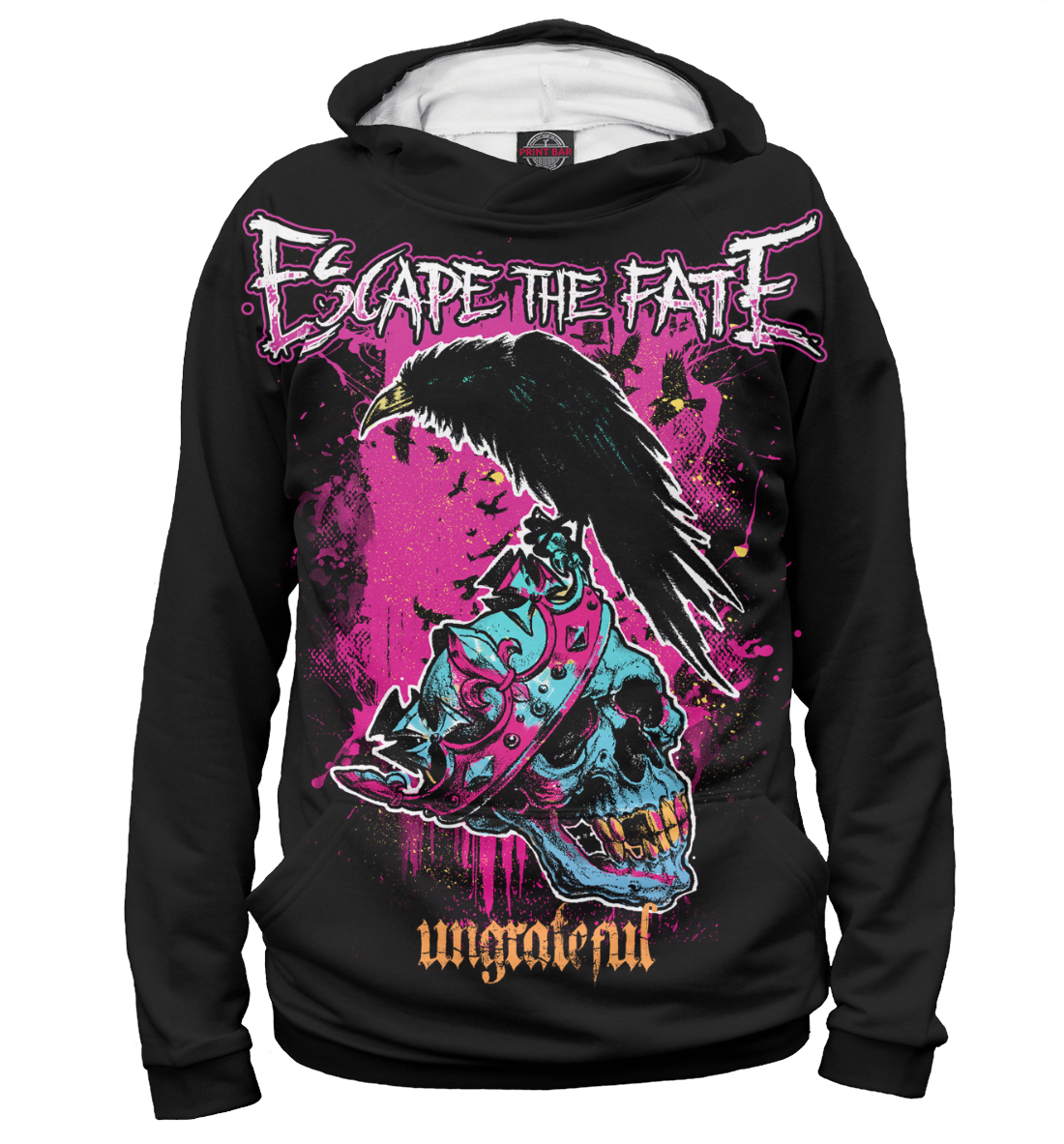 Купить Escape The Fate, Printbar, Худи, MZK-261706-hud-2