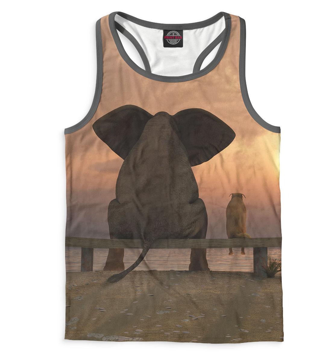 Купить Слоны, Printbar, Майки борцовки, SLO-622569-mayb-2